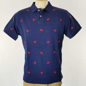 Polo Ralph Lauren Red Lobster Rugby Golf Shirt